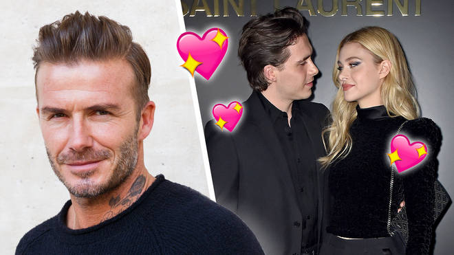 David Beckham responds to son Brooklyn's engagement