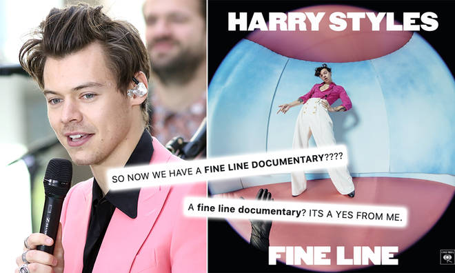 Harry Styles' fans are convinced he's releasing a documentary for 'Fine Line'
