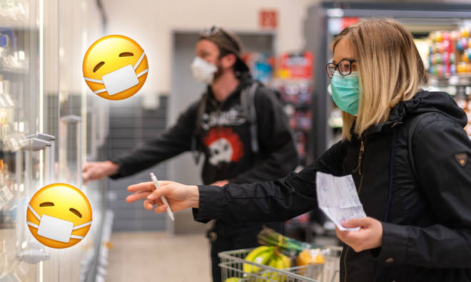 Face masks must be worn in supermarkets and shops under new rules.