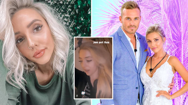 Erin said she fears re-living the Love Island final ahead of it airing in the UK