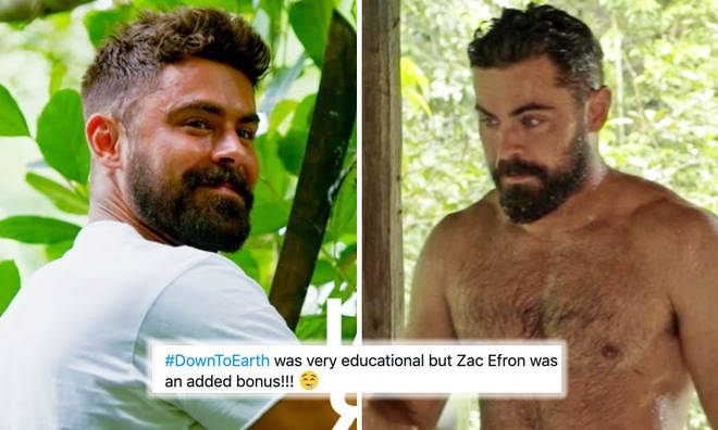 Zac Efron has everyone glued to Netflix thanks to his hot new look on 'Down to Earth'
