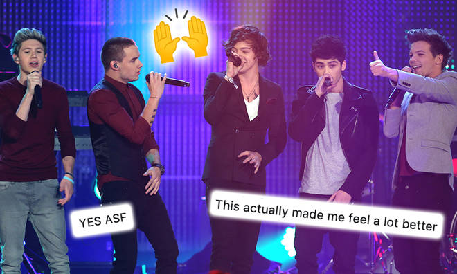 One Direction's reunion rumours have been fuelled by a fan's tweet