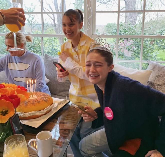Gigi Hadid spent her birthday in lockdown with Bella, Zayn and Yolanda