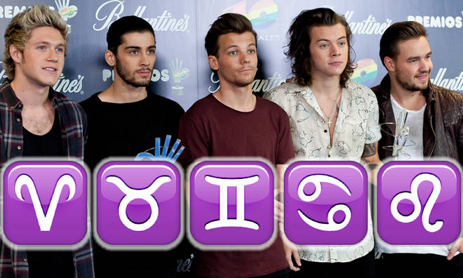One Direction all have new star signs as astrological chart shifts