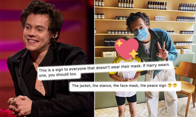 Harry Styles was dubbed 'friendly' after meeting a young fan while shopping at Aesop