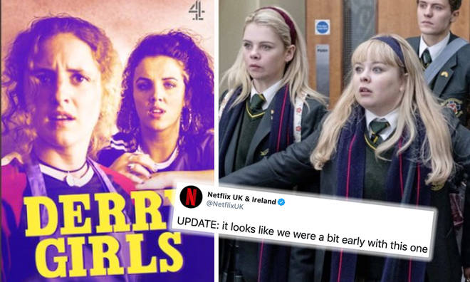Derry Girls series 2 removed by Netflix after being posted too early