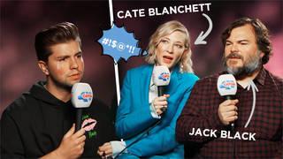 Jack Black And Cate Blanchett on Capital Breakfast with Roman Kemp