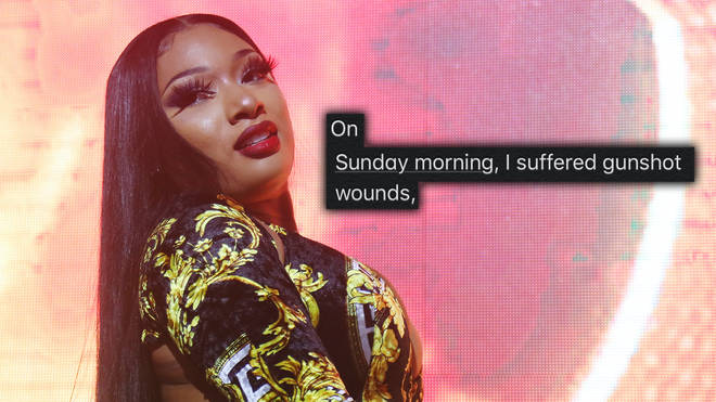 Megan Thee Stallion explained she was shot in the foot