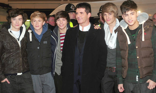 Simon Cowell signed One Direction to Syco Music in 2010.