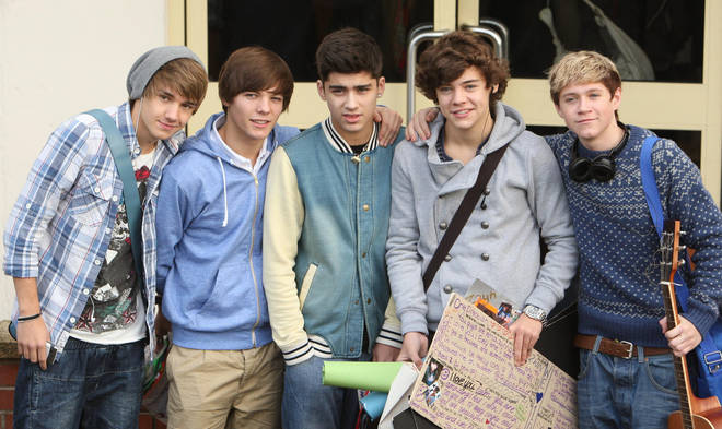 One Direction were formed on Simon Cowell's Syco Entertainment show, The X Factor.