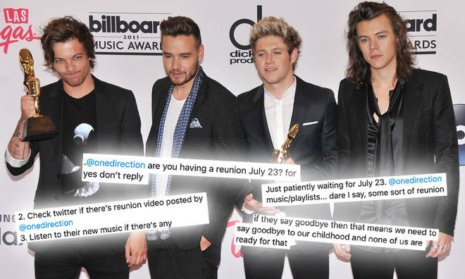One Direction fans have their own predictions for the boys' 10-year anniversary