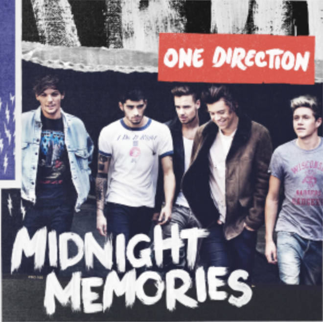 One Direction released 'Midnight Memories' as their third record
