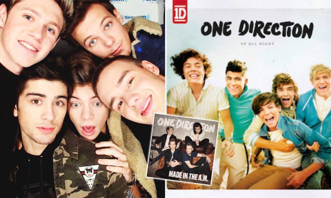One Direction has released five studio albums