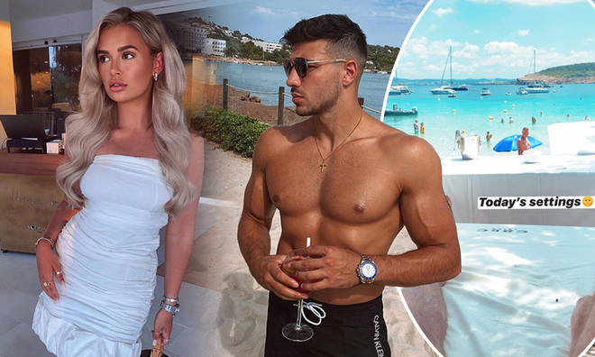 Molly-Mae and Tommy have spent a few days in Ibiza
