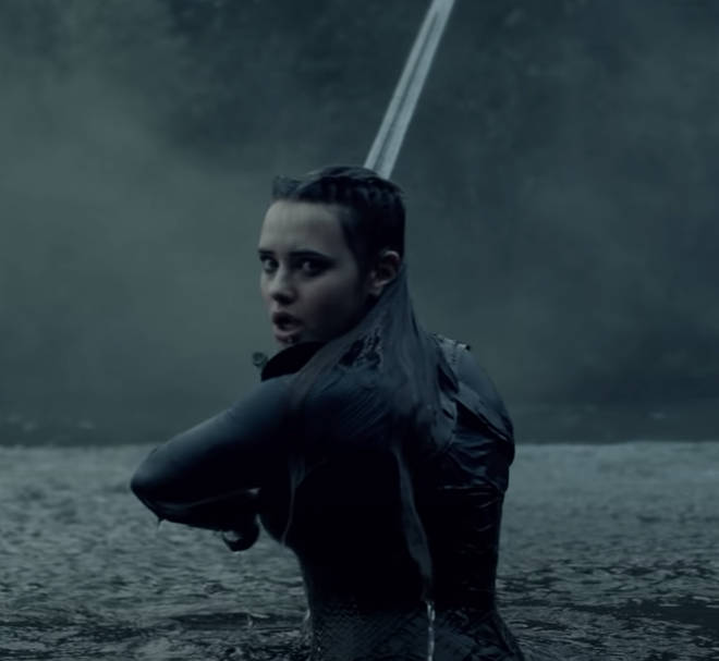 Katherine Langford stars in Cursed