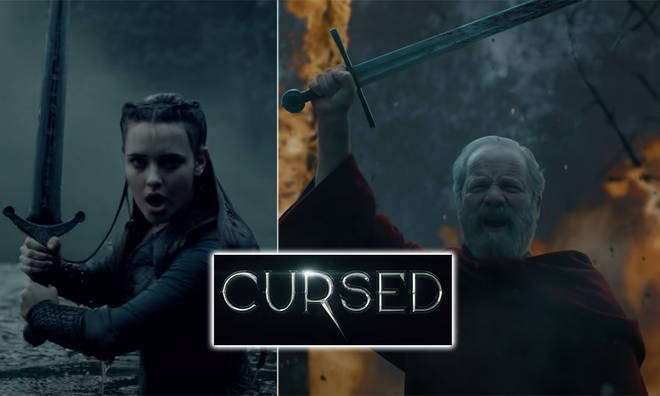 Netflix's new fictional series, Cursed, is dropping