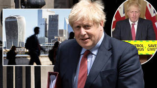 Boris Johnson said work from home advice will relax from 1 August