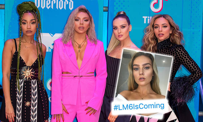 Perrie Edwards fuelled rumours that LM6 is ready