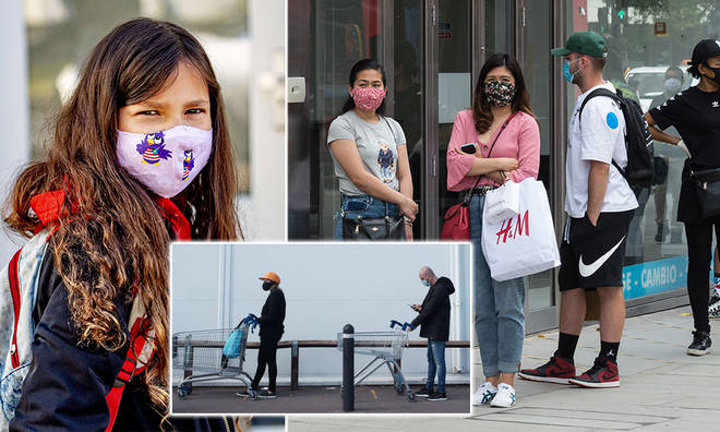 People could face a fine if they don't wear face coverings in shops from July 24