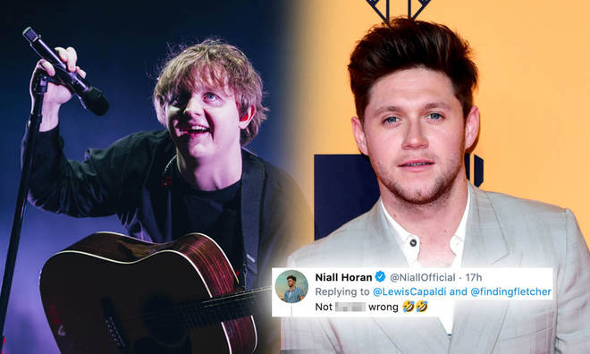 Lewis Capaldi trolled Niall Horan's tour announcement