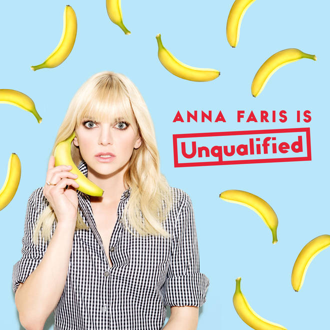 Anna Farris presents the 'Unqualified' Podcast