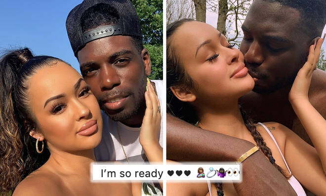 Love Island's Marcel Somerville expecting first child with girlfriend Rebecca
