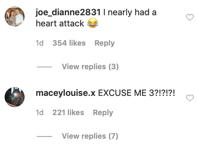 Strictly fans rushed to comment on Dianne Buswell's Instagram post