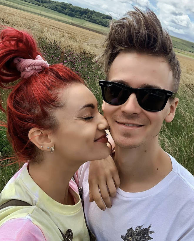 Joe Sugg and Diane Buswell have been away together in the UK