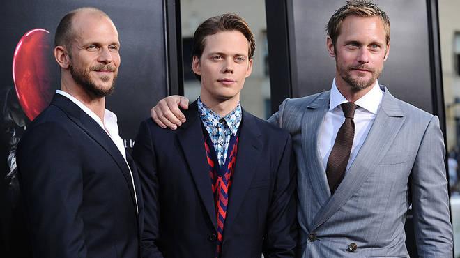 Gustaf Skarsgård is the second eldest in the famous Sweedish Skarsgard family