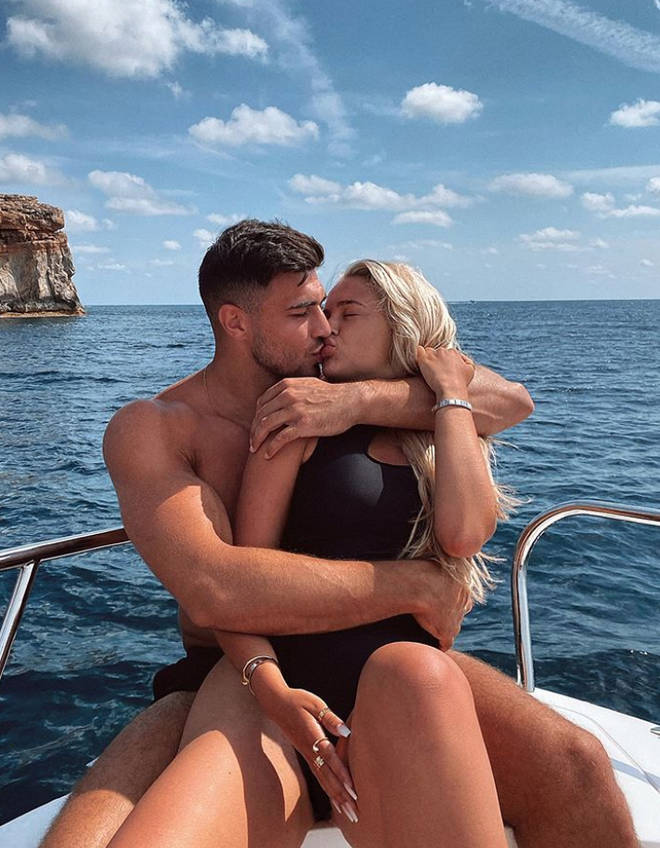Molly-Mae and Tommy Fury spent a week in Ibiza