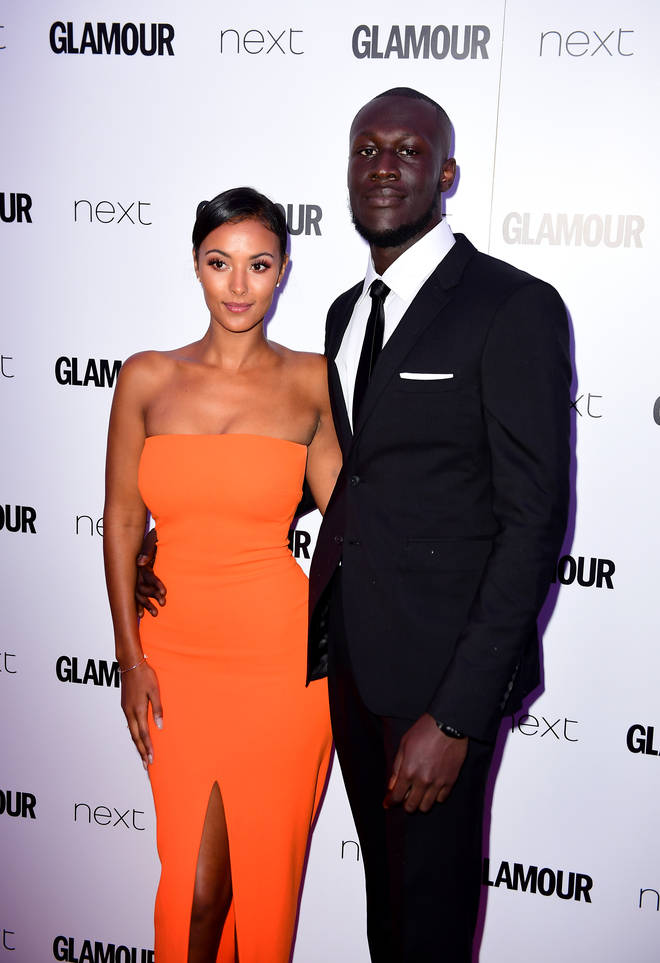 Stormzy and ex-girlfriend Maya Jama dated for four years