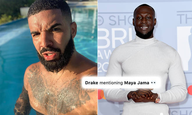 Drake's Maya Jama lyrics in 'Only You Freestyle' confused Stormzy fans