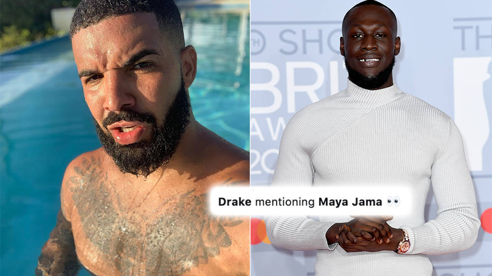 Drake And Maya Jama Why Stormzy S Ex Girlfriend Featured In New