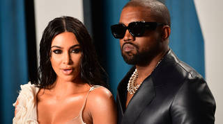 Kim Kardashian hasn't commented on Kanye West's viral speech.