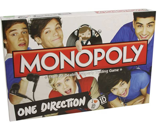 One Direction Monopoly is actually a thing