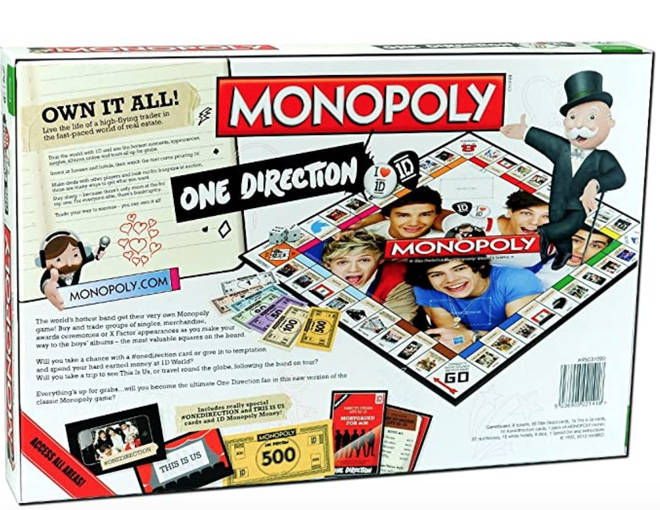 One Direction Monopoly is the best merch we've ever seen