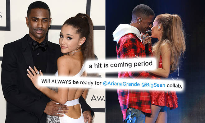 Big Sean's manager sparked rumours that Ariana Grande will be releasing a new song with the star