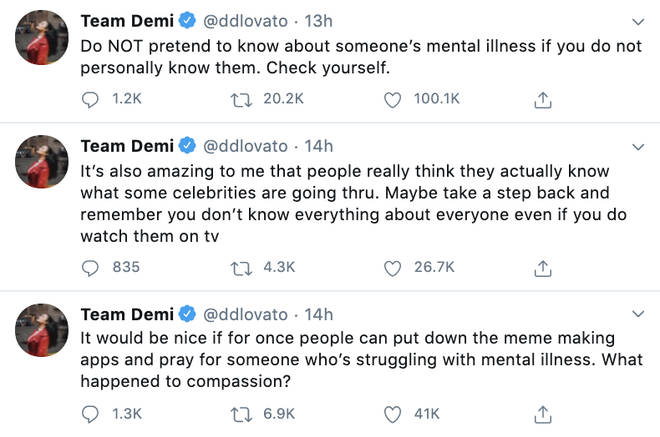 Demi Lovato shut down people who were 'making memes' about Kanye West
