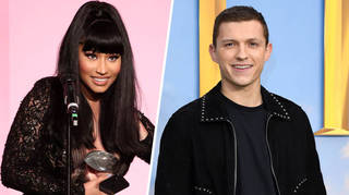 Fans joked Tom Holland is the father of Nicki Minaj's baby