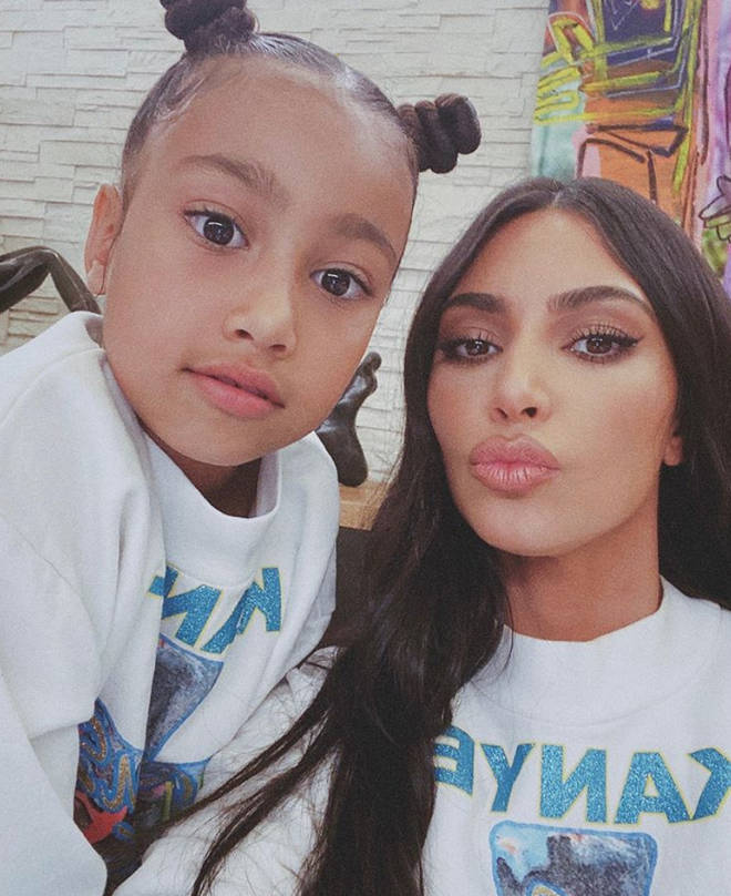 North West is the eldest daughter of Kim Kardashian and Kanye West.