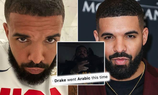 Drake's Arabic lyrics translated have fans thinking he's talking about Rihanna