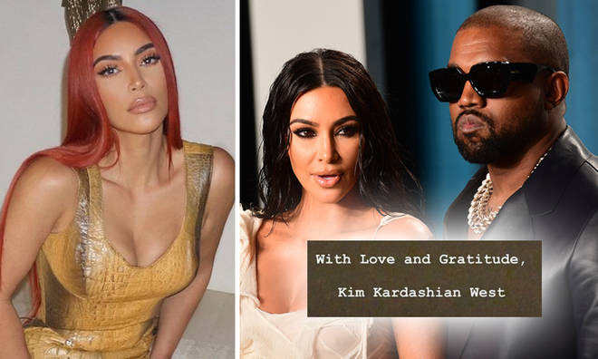Kim Kardashian released a statement on Instagram about her husband Kanye West.