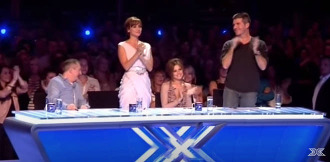 Louis Walsh and Cheryl didn't stand after Liam Payne sang