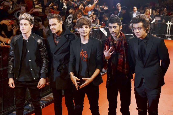 Harry Styles, Liam Payne, Zayn Malik, Niall Horan and Louis Tomlinson are celebrating their 10-year anniversary.
