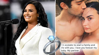 Demi Lovato is engaged