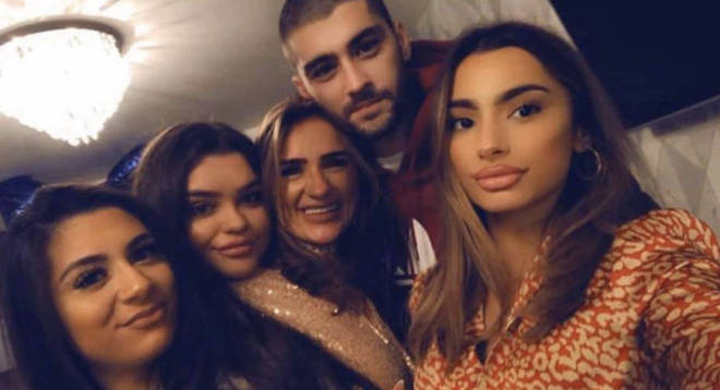 Safaa Malik said she was 'so proud' of how far Zayn has come