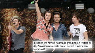 One Direction's anniversary website crashed before it was live