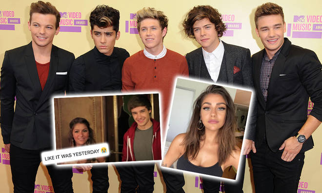 A YouTube star showed One Direction fans a super funny video with the boys from 2012