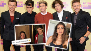 A YouTube star showed One Direction fans a super funny video with the boys from 2012.