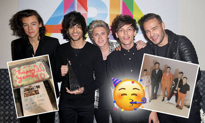 One Direction fans are celebrating 10 years of the boy band in some incredibly creative ways